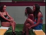 Black lesbian chicks in threesome