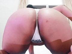 Spanking my Big, Black, Fat ass!!!