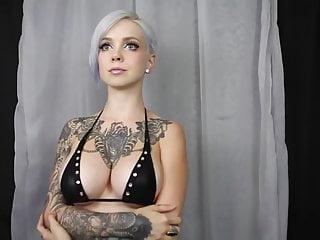 Beautiful Bitch Flexes her Big Titties to Classic Mozart