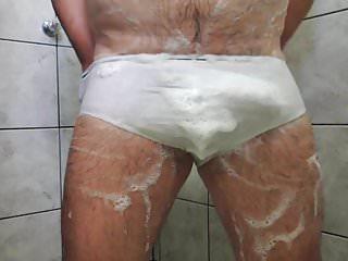Shower tease until cumming...