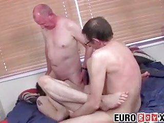 Old men and twink fucking