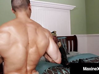 Long cock latino pussy wrecks slut maxine x...