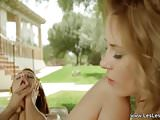 Outdoor Licking Lesbians