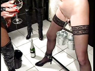 Mistress Catja dominates and whips a MILF (2)