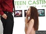 Cute teen Jade gets rough sex and BDSM sex slave training