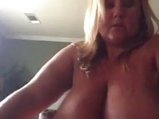 Girl with big tits rides
