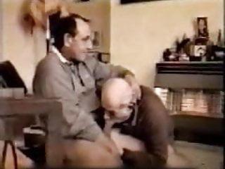 Mature man suck older gay daddies dick...