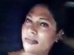 Desi girls in auto