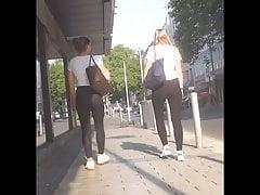German Slut Teen In Spandex