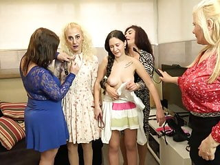 lesbian group young and KINKY old sex