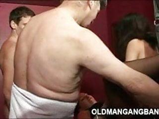 Swing club orgy man...