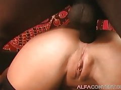 Two Hotties Get Gangbanged