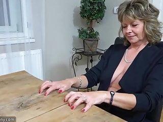 Oldnanny sexy girl masturbate horny granny...