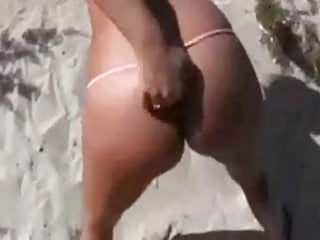 Blonde Milf loves to be fucked in the dunes