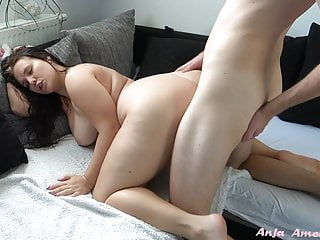 Stepsister lets stepbrother use hairy cunt