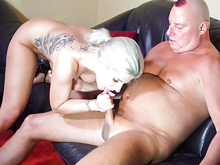 LETSDOEIT – Tattooed Blonde and Partner First Time On Cam