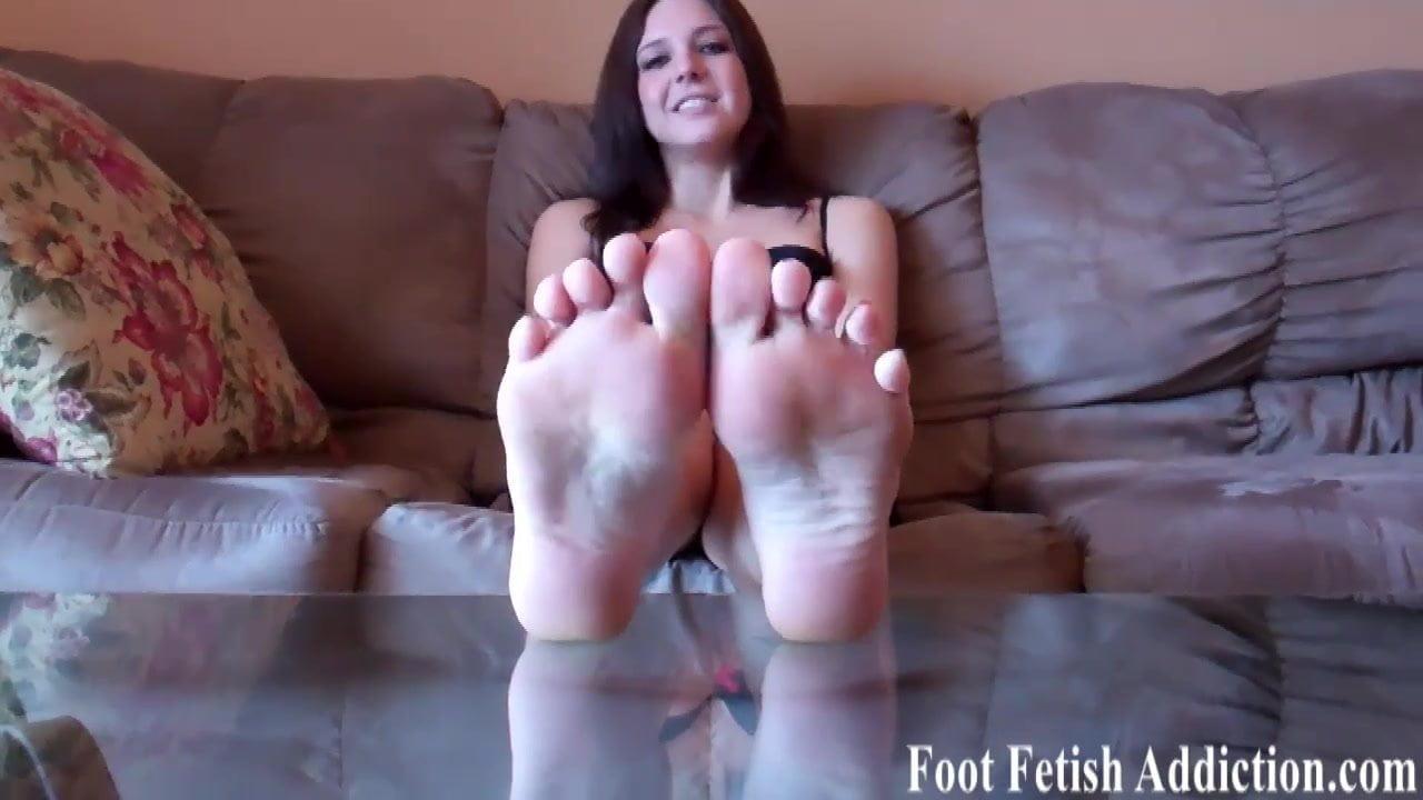 Black Teen Masturbation Feet