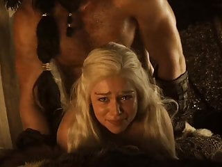 Emilia Clarke gets fucked  in slo motion