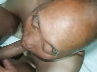 Sucking in sauna...