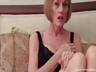 Swingers Blowjob Facial video: Mature Swinger Plays With A Stranger