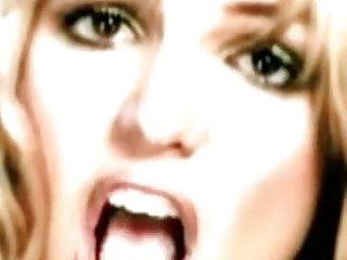 Britney Spears Tongues vid: britney tongue loop #032