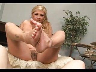 Ballbusting and Cock biting MILF teacher Joclyn Stone