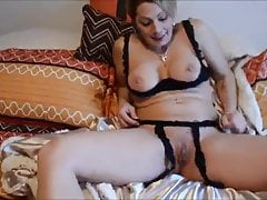 Chelle - The Nakerd Goddess - Blowing & Toying - Jan 2015