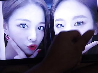 Fromis 9 Chaeyoung and Gyuri cum tribute 1