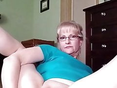 Blonde Mature Girl's First-ever Ass-fuck Onanism, Total Version