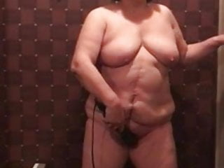 Granny using vibrator...