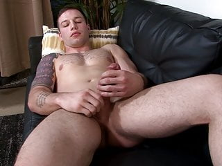 ActiveDuty – Tim Tank Strokes His Large Cock