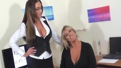 Lesbian Secretaries Caught By Their Boss F70 Lesbian Boss