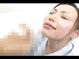 Japanese huge facial compilation