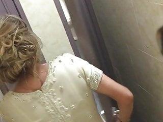 Bathroom voyeur…