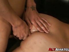 Alternate amateur has his butthole destroyed missionary