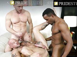 PrideStudios – Big Dicked Three Ways Compilation