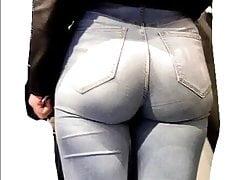 Pawg buit om je jeans fetisj te bevredigen!