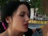 2 Hot French waitresses fuckin Janitor guy