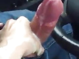 Dick car handjob...