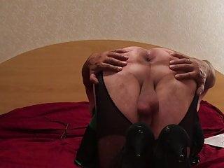 Membo1 pantyhose with a cutouts...