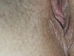 Wife fingering pussy