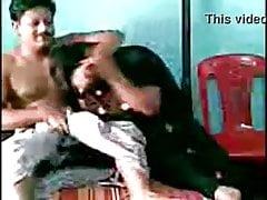 Mallu Salwar Aunty With Neighbor