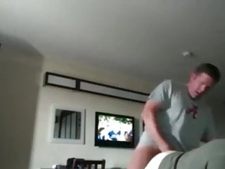 Southern daddy fucks and cums inside bear...