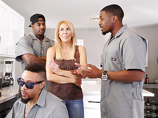Cougar erica lauren interracial gangbang...