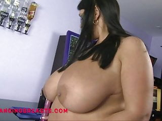 Fair British Mom with massive tits