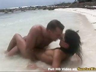 Bikini sex and cumshot...
