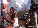 african groupsex safari orgy