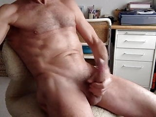 Daddy load and his eating cumming