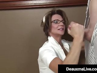 Medical Supplier Deauxma Strokes Her Affected person's Arduous Dick!