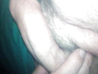 hairy horny morning cock touch